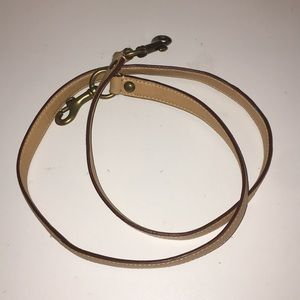 Coach purse strap.